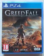 Sony PlayStation 4 - GREED FALL   ( Anno 2019  ) - Sony PlayStation