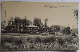 Carte Postale Arras Le Passage à Niveau D'Achicourt - Arras
