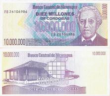 Nicaragua ND (1990) - 10000000 Cordobas - Pick 166 UNC - Nicaragua