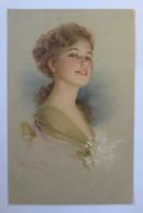 Künstlerkarte, Frauen, Mode, Haarmode, 1921 ♥ (32709) - 1900-1949