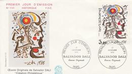 FDC 1979 PEINTURE DE SALVADOR DALI - 1970-1979