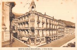 R554544 Monte Carlo Beausoleil. Hotel Suisse. Imp. G. Mathieu. A. D. I. A - World
