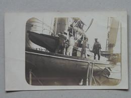537 Pola Kriegsmarine KuK K.u.K. Marine Navy Ship Schiff Photo Probably Radetzky Sailors Boat - Warships