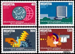 1982 Suiza Yv S-457/460 O.M.P.I.  **MNH Perfecto Estado, Nuevo Sin Charnela  (Yvert&Tellier) - Officials