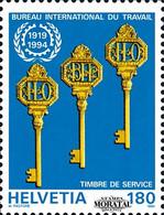 1994 Suiza Yv S-468 Despacho Internacional Trabajo  **MNH Perfecto Estado, Nuevo Sin Charnela  (Yvert&Tellier) - Officials