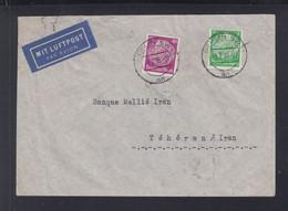 Dt. Reich Flugpost 1938 Berlin Nach Iran - Cartas