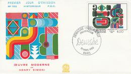 FDC 1983 PEINTURE DE DEWASNE - 1980-1989