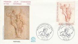 FDC 1983 PEINTURE DE RAPHAEL - 1980-1989