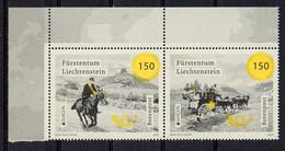 Liechtenstein 2020. Europa - CEPT. Ancient Postal Routes. MNH - Ongebruikt