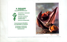 Calendrier De Poche 2009 Pharmacie Homeopathie Veterinaire Orleans  Theme Epice Fenot - Small : 2001-...