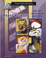 Ref. 224897 * MNH * - NEVIS. 2004. PABLO PICASSO . PABLO PICASSO - St.Kitts And Nevis ( 1983-...)