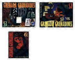 Ref. 55159 * MNH * - GRENADA GRENADINES. 1998. 25TH ANNIVERSARY OF THE DEATH OF THE PAINTER PABLO RUIZ PICASSO . 25 ANI - Picasso