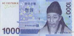 South-Korea 1000 Won (P54) 2007 -UNC- - Corea Del Sud