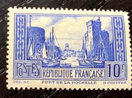 AFR22 - France Port DeLa Rochelle N° 261 Type III - Neuf* - Nuovi