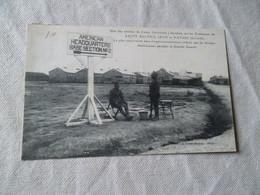 UNE DES ENTREES DU CAMP AMERICAIN S'ETENDANT SUR LES COMMUNES DE SAINT SULPICE IZON ET VAYRES - Sin Clasificación