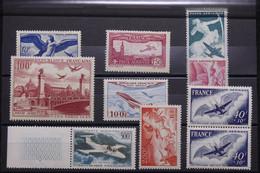 FRANCE - Lot De 10 Valeurs Poste Aérienne- Neufs ** - L 96277 - 1927-1959 Neufs