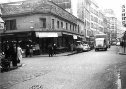 PARIS XVe ANGLE DE LA RUE DU COMMERCE ET RUE LETELLIER 1956 PHOTO ORIGINALE 18 X 12.5 CM - Distretto: 15