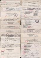 Guerre 39 45, 50 Lettres Correspondance Prisonniers De Guerre Français Stalag VII B Memmingen Censure Commando 953 - WW II