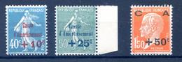 France - Caisse D'Amortissement N°246, 247 Et 248 - Neuf** - Cote 70€ - (F560) - Neufs