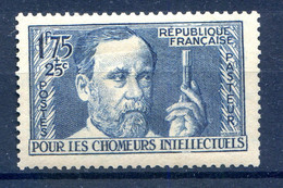 France - Chômeurs Intellectuels N°385 - Neuf* - (F562) - Neufs