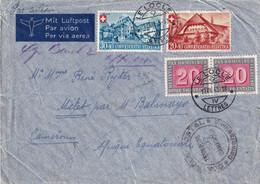 SUISSE 1945 PLI AERIEN DE LE LOCLE - Storia Postale