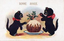 Chats , Bonne Année - New Year