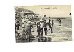 Cpa - 14 - CABOURG - La Plage - Baigneurs - Jeu Enfants - N°18 Roger - 1921 - Cabourg