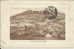 FONTENAY - SANCERRE , 1911 - Autres Communes