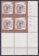 1975 , Mi 1476 ** (7) -  4er Block Postfrisch - Freimarke : Schönes Österreich - Kahlenbergerdorf , Wien - 1971-80 Unused Stamps