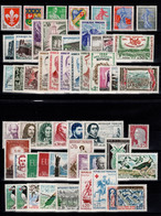 Année Complete 1960 N** + YV 1274a (Houppe) Cote 81 Euros - 1960-1969