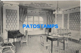 158320 FRANCE FONT ROMEU PAR ADEILLO THE GREAT HOTEL A FLOOR LOUNGE INTERIOR POSTAL POSTCARD - Sin Clasificación