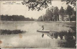 GARIGNY ( Cher ) , Château De Doys , L' Etang , CPA ANIMEE - Autres Communes