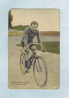 CPA Cyclisme Édition M. Rosenberg, Bruxelles. André POTTIER, Français, Sur Bicyclette Alcyon. - Wielrennen