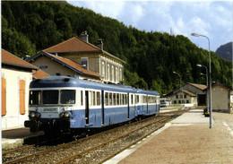 Gare De Morez Liaison St Claude Dole Les Autorails X 2863 Et 2836 RV - Morez