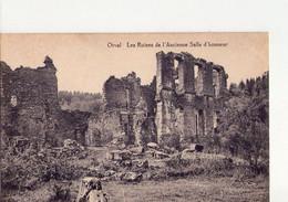 CPA - 18 - 36 -  ORVAL - LES RUINES DE L'ANCIENNE SALLE D'HONNEUR - - Autres Communes