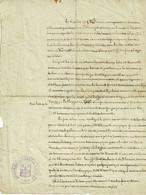 Theux, Beau Document 1914, Ww1, Fait D'armes D'un Theutois : Protéger Des Soldats Belges (arrivée Des Hussards) - Theux