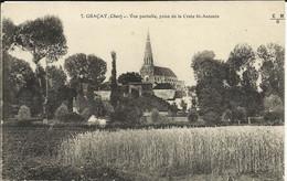 GRACAY ( Cher ), Vue Partielle , Prise De La Croix St Antonin , 1919 - Graçay