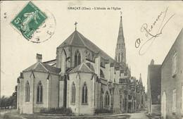 GRACAY ( Cher ) , L' Abside De L' Eglise - Graçay