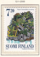 FINLANDIA 2000 FORTEZZA SUOMENLINNA N.1483  MNH** - Nuevos