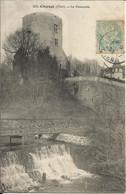 CHAROST ( Cher ) , La Passerelle , 1905 - Autres Communes