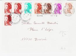 France , Tarif à 2,30f Du 11 /1 /1990 Liberté De Gandon  TB - Tariffe Postali