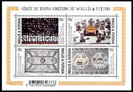 WALLIS ET FUTUNA 2014 - Yv. F820 (820 à 823) **  - Feuillet Tapas Anciens (4 Val.)  ..Réf.W&F23496 - Unused Stamps