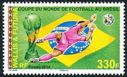 WALLIS ET FUTUNA 2014 - Yv. 818 **  - Coupe Du Monde De Football, Au Brésil  ..Réf.W&F23493 - Unused Stamps