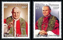 WALLIS ET FUTUNA 2014 - Yv. 812 Et 813 **  - Papes Jean Paul II Et Jean XXIII (2 Val.)  ..Réf.W&F23488 - Unused Stamps