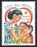 WALLIS ET FUTUNA 2014 - Yv. 815 **  - Fêtes Des Mères Enfants Offrant Une Fleur  ..Réf.W&F23490 - Unused Stamps