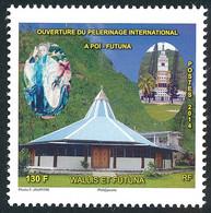 WALLIS ET FUTUNA 2014 - Yv. 814 **  - Pèlerinage. Cathédrale Et Chapelle  ..Réf.W&F23489 - Unused Stamps