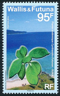 WALLIS ET FUTUNA 2014 - Yv. 810 **  - Plante Endémique Cyrtandra Futunae  ..Réf.W&F23486 - Unused Stamps