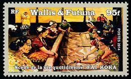 WALLIS ET FUTUNA 2014 - Yv. 811 **  - Scène De La Vie Quotidienne: Fai Koka  ..Réf.W&F23487 - Unused Stamps