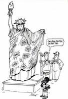 Illustrateur Million  On A Beau Frotter ça Part Pas ..RV 600ex - Humor