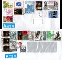 Belgium 2003, Two Priority Envelopes - Covers & Documents